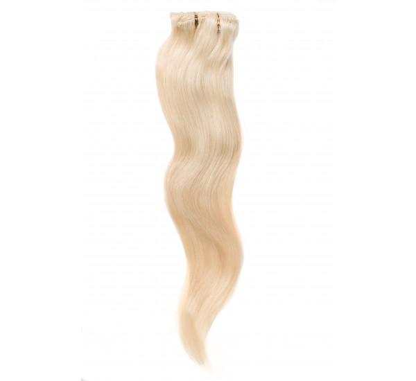 Extensii Cusute Blond Deschis